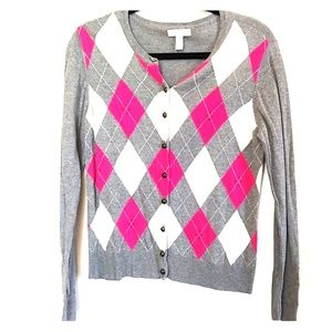 Charyer club argyle sweater